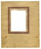 Vintage Paper With Frame