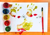 Watercolour Stain