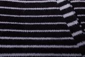 Striped Background With Soft Fabric