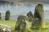 Close Up Of Castlerigg Neolithic Stone Circle