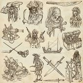 picture of kraken  - Pirates Buccaneers and Sailors  - JPG