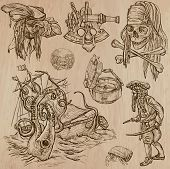 foto of descriptive  - Pirates Buccaneers and Sailors  - JPG