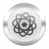 atom chrome web icon isolated