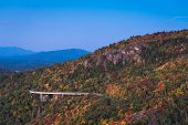 Linn Cove Viaduct Sunrise