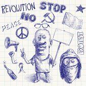 Protest doodle