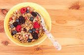 Granola With Berries