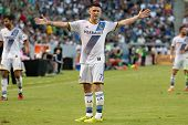 CARSON, CA - OCT 19: Robibie Keane during the Los Angeles Galaxy MLS game against the Seattle Sounders on October 19th 2014 at the StubHub Center.