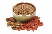 Linseed In A Bowl