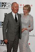 NEW YORK-OCT 11: Actors Michael Keaton (L) and Naomi Watts attend the premiere of 'Birdman Or The Unexpected Virtue Of Ignorance' at the New York Film Festival on October 11, 2014 in New York City.