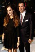 NEW YORK-OCT 16: Designer Ariana Rockefeller (L) and husband Matthew Bucklin attend God's Love We Deliver, Golden Heart Awards on October 16, 2014 in New York City.