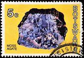 Botswana postage stamp