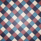 Checked Background Pattern