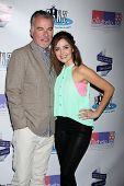LOS ANGELES - OCT 19:  Ian Buchanan, Jen Lilley at the First Annual Stars Strike Out Child Abuse event to benefit Childhelp at Pinz Bowling Center on October 19, 2014 in Studio City, CA