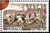 Football 1890 Stamp
