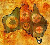 Tasmania On Map Of Australia