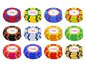 Uk Casino Chip Stacks