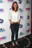 LOS ANGELES - OCT 19:  Cassidy Freeman at the First Annual Stars Strike Out Child Abuse event to benefit Childhelp at Pinz Bowling Center on October 19, 2014 in Studio City, CA