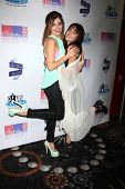 LOS ANGELES - OCT 19:  Jen Lilley, Haley Pullos at the First Annual Stars Strike Out Child Abuse event to benefit Childhelp at Pinz Bowling Center on October 19, 2014 in Studio City, CA