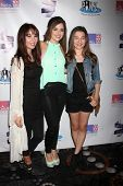 LOS ANGELES - OCT 19:  Haley Pullos, Jen Lilley, Stephanie Katherine Grant at the First Annual Stars Strike Out Child Abuse event at Pinz Bowling Center on October 19, 2014 in Studio City, CA