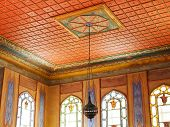 Ceiling In Harem Of Khan's Palace, Crimea