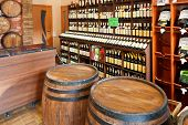 Ocal Crimean Wine In Wine Shop In Yalta, Crimea