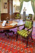 Interior Of Working Room In Masandra Palace Crimea