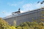 Facade Of Yalta Hotel Complex In Crimea