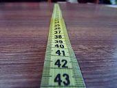sewing meter