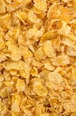 corn flakes as background texture