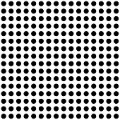 Seamless Black And White Spots Background