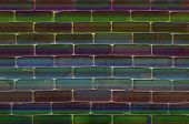Abstract Background of brick wall texture