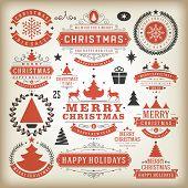 Christmas Decoration Vector Design Elements