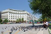 Greece, Thessaloniki, Aristotelous Square