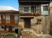 Old houses in Potes, Spain