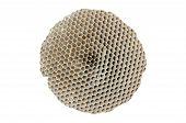 Honeycomb Isolated On White Background