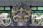 pic of ogre  - the Ogre decoration in Yogyakarta Sultanate Palace - JPG
