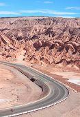 road near San Pedro de Atacama