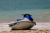 image of whoopees  - a jet ski on the beach - JPG