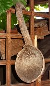 Old Wooden Spoon