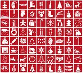 Icons Christmas And New Year