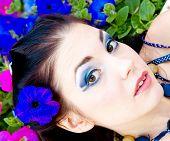 Bright Eyes Caucasian Girl