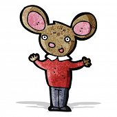 cartoon mouse shrugging shoulders