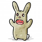 cartoon spooky rabbit