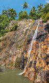Namuang waterfall of Koh Samui Island Thailand