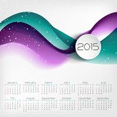 Calendar Design. Vector Illustration