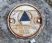 Monitoramento ambiental bem na cidade de Riverside Park