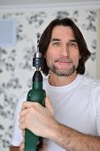 picture of hand drill  - middle - JPG