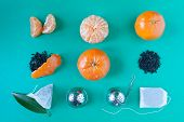 picture of tea bag  - Deconstructed tangerines tea - JPG