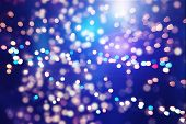 foto of glow  - Festive background with natural bokeh and bright golden lights - JPG