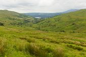 image of passed out  - Kirkstone Pass view towards Grasmere by Kirkstone Pass Inn Lake District England UK - JPG